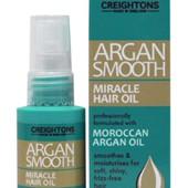Питательное масло с экстрактом арганы для придания блеска и гладкости волосам