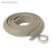 Защитный бампер на острые поверхности, 2 метр серый 2 метра широкий