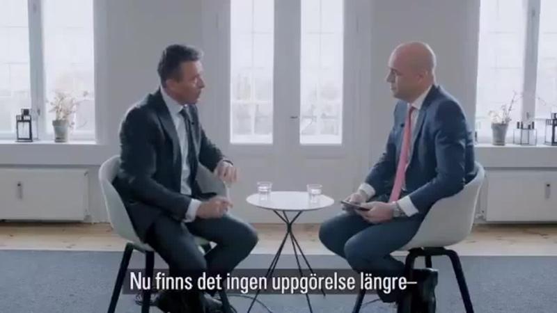 Anders Fogh og F Reinfeldt