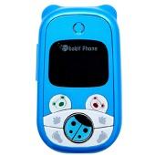 Детский телефон Baby Phone (Бэбифон) голубой