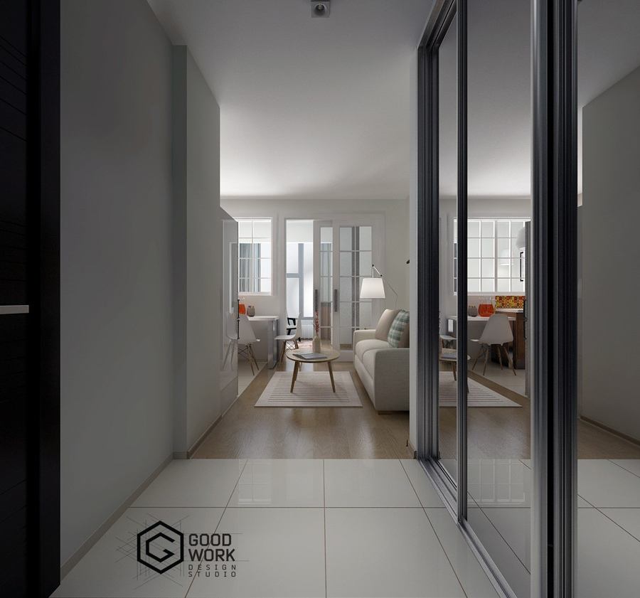 Проект квартиры 26 м.
