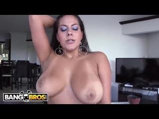 406 BANGBROS - Big Tits Colombian Woman Juliana Sucks and Fucks