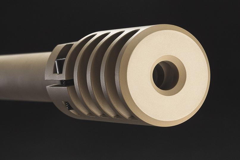 Тактический четырехкамерный ДТК щелевого типа