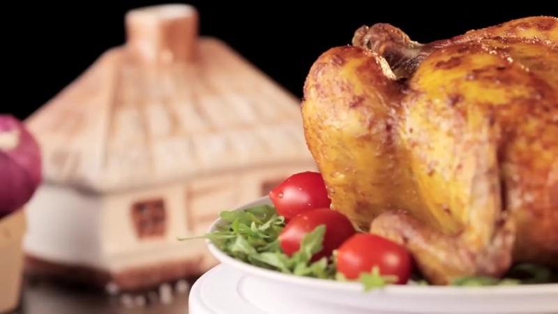 Курица в духовке - сочная и безумно вкусная!