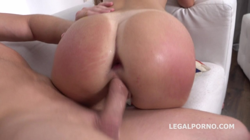 Katty West 2on1 DP ATM, Balls Deep, Squirting, Cum in Mouth