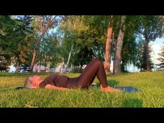 Pre-Pilates - зарядка для начинающих