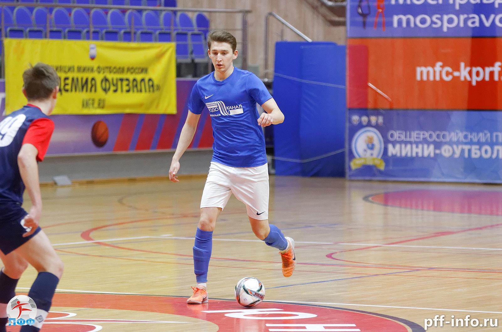«Водоканал» продолжает погоню за «Десной» в Чемпионате Подольска по мини-футболу