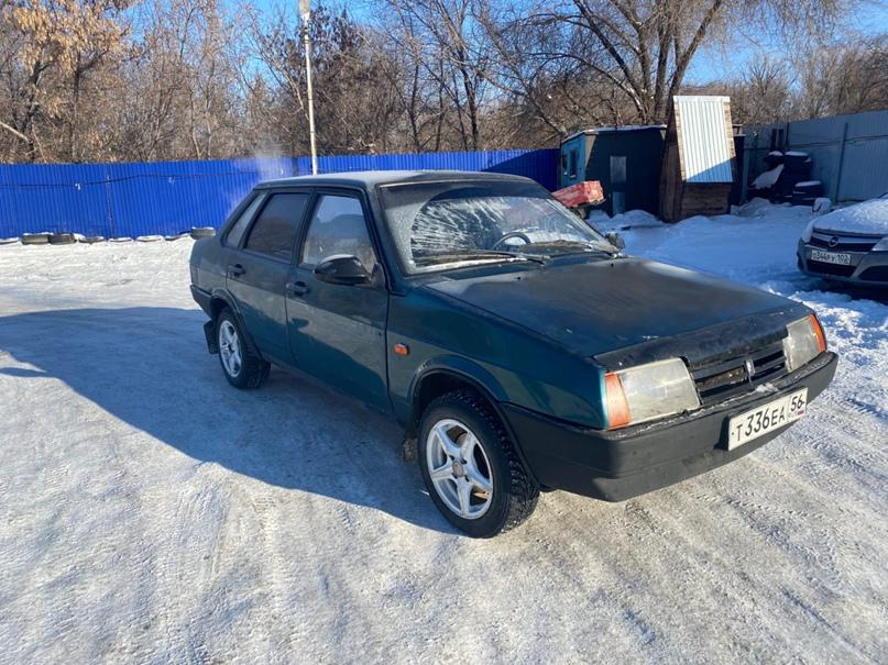 Купить ВАЗ 21099 2002 года выпуска, по кузову | Объявления Орска и Новотроицка №12899