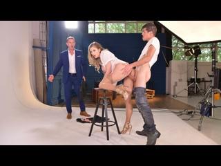 Candy Alexa - Busty Blonde Secretary All Sex Porn Blowjob Cowgirl Doggy Big Tits Milf DP Anal Threesome Gonzo Facial Czech порно