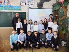 Школьники узнали о службе в органах внутренних дел изнутри