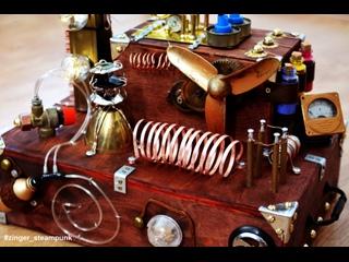 Декор машины Стирлинга. Стимпанк бутафория от костюмерной Каденция.