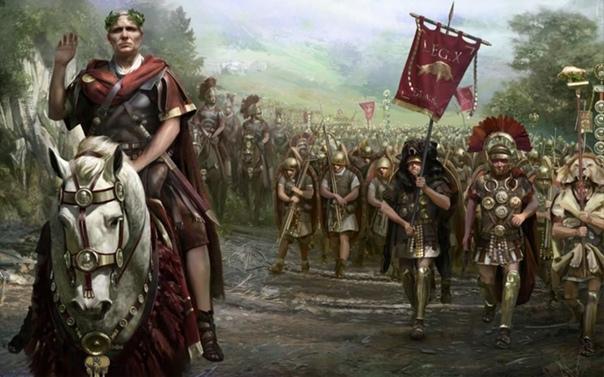 Римская армия. Мы имеем туманное представление о деталях службы в римской армии, но мы отлично себе представляем внешний вид этого войска. В конце концов, Рим был развитой цивилизацией с
