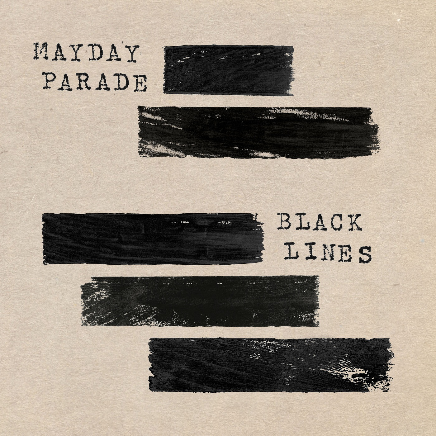 Mayday Parade album Black Lines