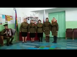 "Акция ""Песни и стихи #ПАРАДПОБЕДИТЕЛЕЙ"". Песня ""Катюша"""