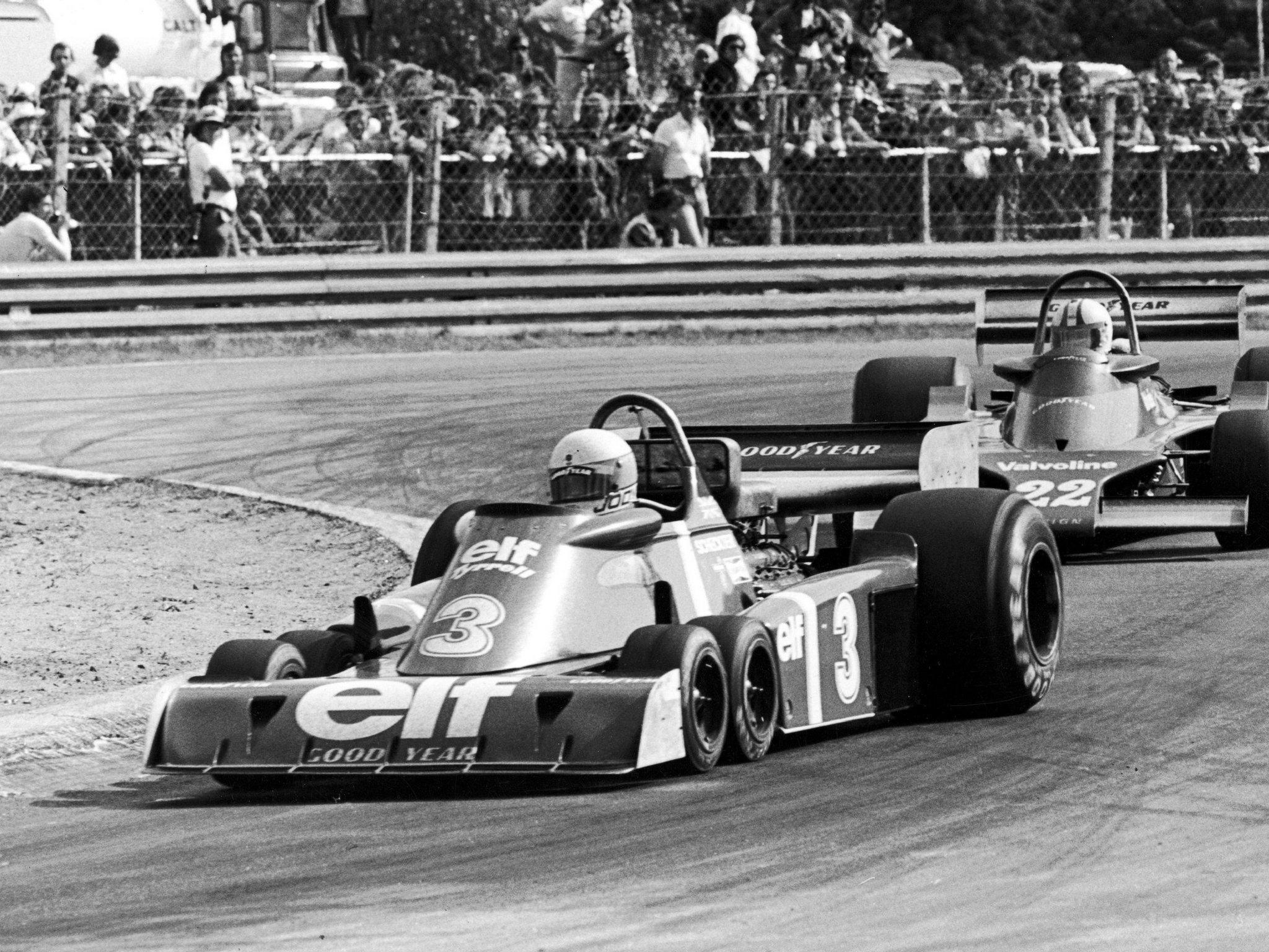 Tyrrell P34 на трассе