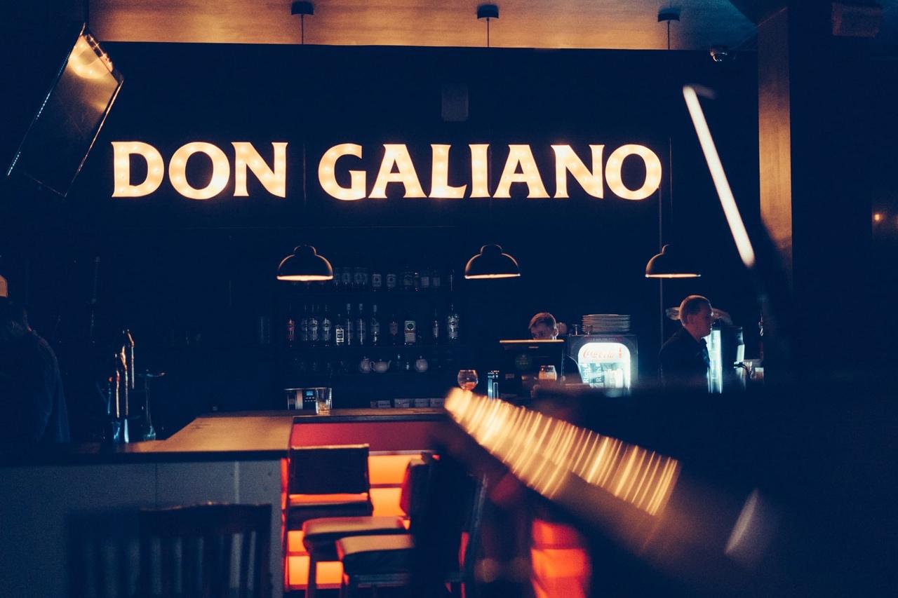 """Lounge bar """"Don Galiano"""""""