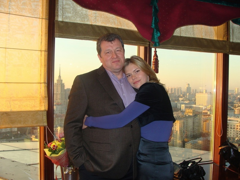 С дочкой Катериной