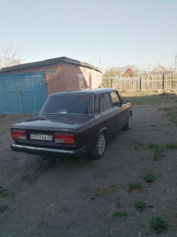 2107 2008 года выпуска, инжекторная, пробег   Объявления Орска и Новотроицка №19644