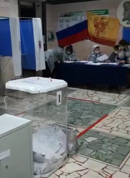 Наблюдатели от КПРФ в Чебоксарском районе подготов...