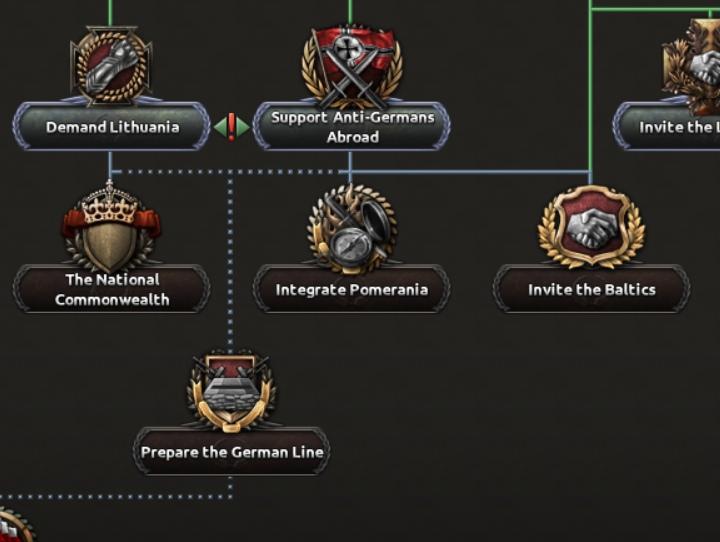 Дневник разработчиков Hearts of Iron IV — Изменение древа фокусов Польши, часть 2, изображение №27