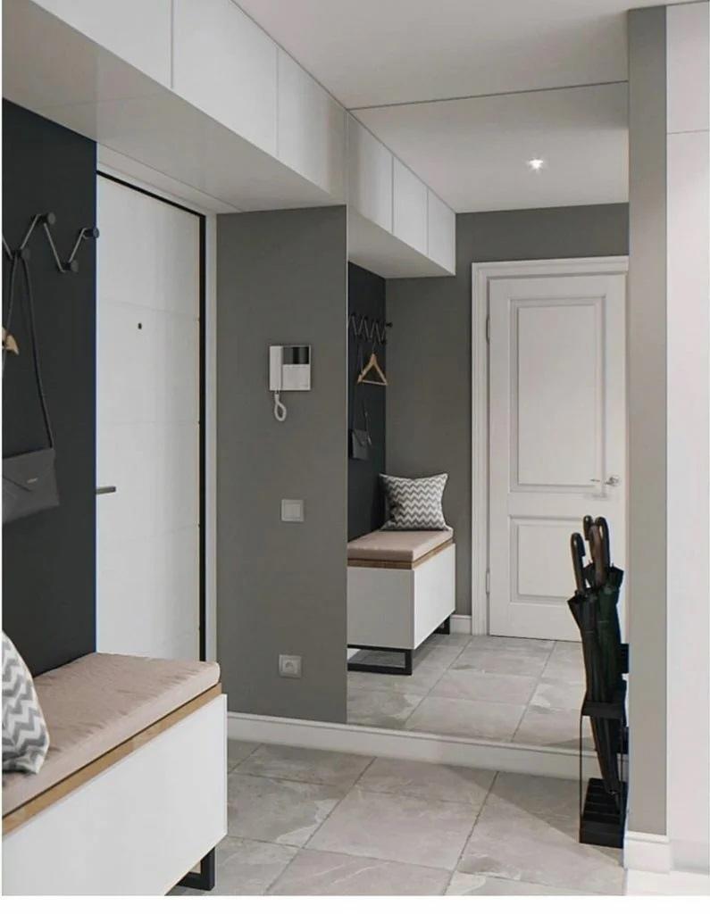 Проект квартиры-студии 31,5 кв.