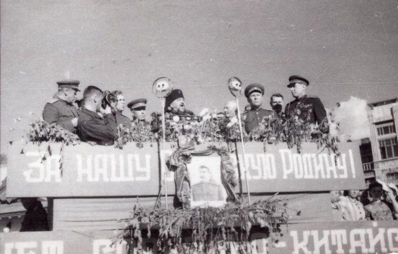 16 сентября 1945 года в Харбине состоялся Парад Победы
