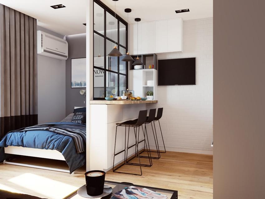 Концепт квартиры почти 31 кв.