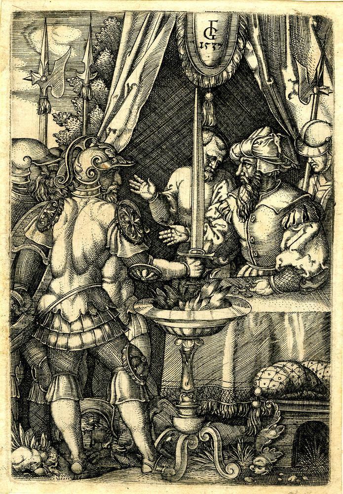 1537 год. Муций Сцевола и Ларс Порсена
