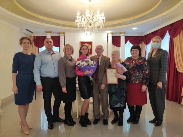 Семья Татаренко отметила золотую свадьбу  22 октяб...