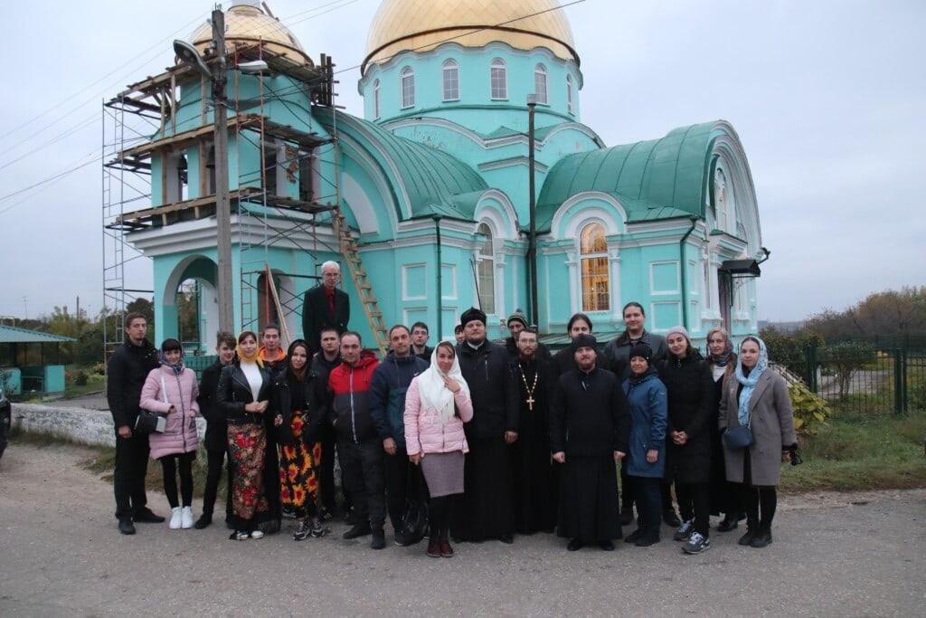 Активисты клуба «Ихфис» совершили паломническую поездку по святым местам Пензенской митрополии