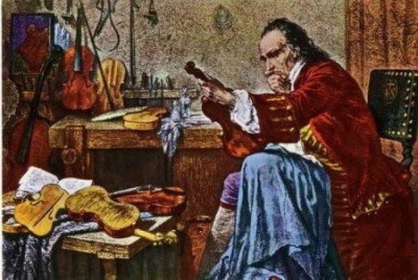Страдивари был известнейшим итальянским мастером по созданию струнных инструмент...