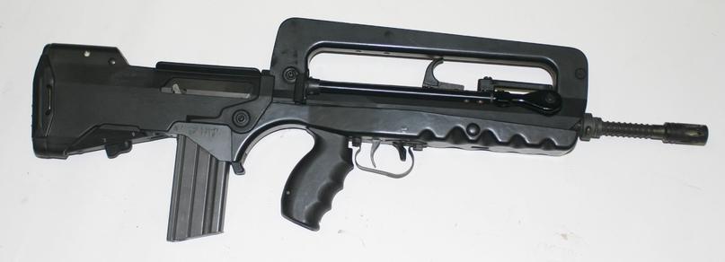 Штурмовая винтовка сент-этьенского оружейного завода — версия F1 (из откр. доступа)
