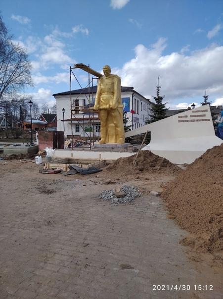 Продолжаются работы по сохранению памятника «Объект культурн