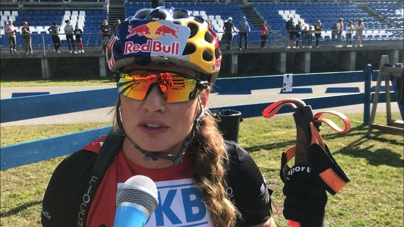 🇮🇹 Доротеи Вирер после победы в спринте ЛЧИ-2021: