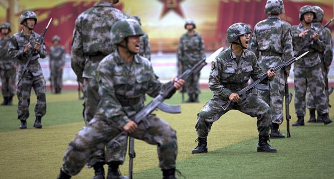 Солдаты КНР