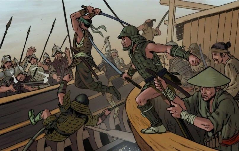 """Испанские """"терминаторы"""" против самураев"""