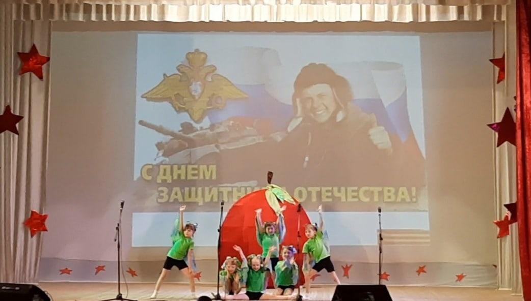 Хореографическое отделение Большеучинской ДШИ под руководством Соловьевой