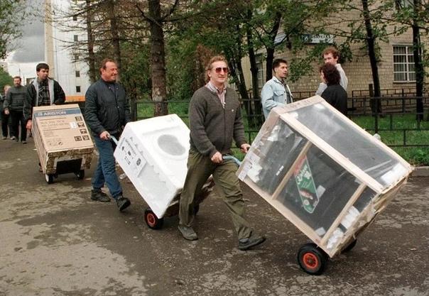 #ФотомагияМосквичи скупают бытовую технику во врем...