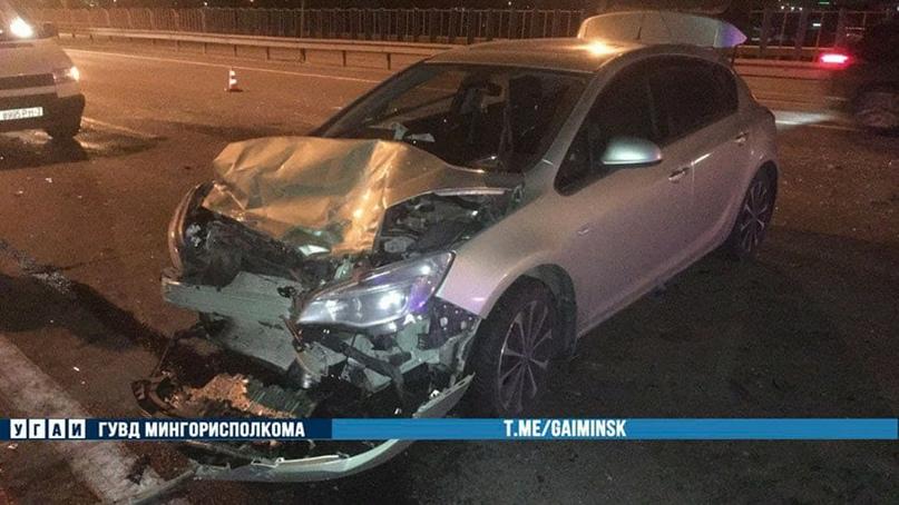 Авария на МКАД: пострадали шесть человек, в их числе трое детей