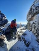13 марта 2021 при поддержке МАНАРАГИ состоялось восхождение на вершину горы Двуглавая на Таганае по курсу начальной подготовки альпинистов