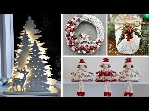 Decoração de Natal DIY! Aprenda a fazer árvore de natal e guirlanda