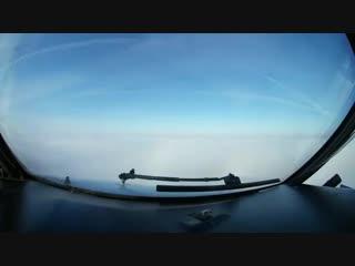 """Как самолет садится в """"Минск-2"""" в сильный туман. Взгляд из кабины пилота"""