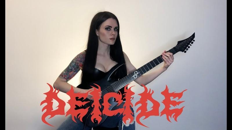 Deicide Homage For Satan guitar cover