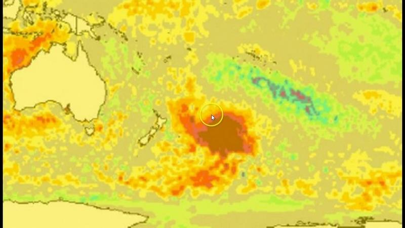 Mysterious '1 Million Square Kilometers' HOT BLOB Off New Zealand Coast Baffles Scientists