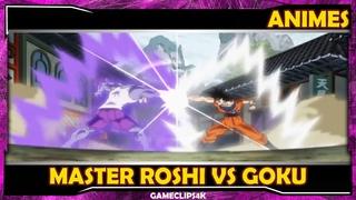 Master Roshi Vs Goku   Goku tests Gohan for the Tournament of Power   Goku SSJ Blue Vs Hit