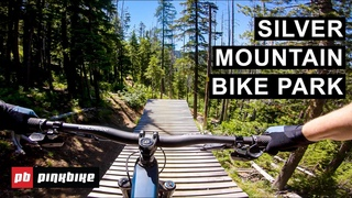 Riding Silver Mountain Bike Park's Insanely Long Trails in Kellogg, Idaho | First Impressions