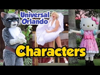 Meeting Characters at Universal Studios Florida - Theme Park Delight