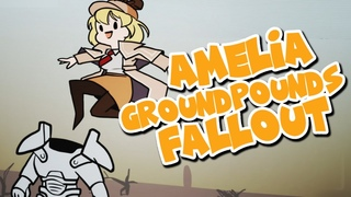 Ame ground pounds into Fallout