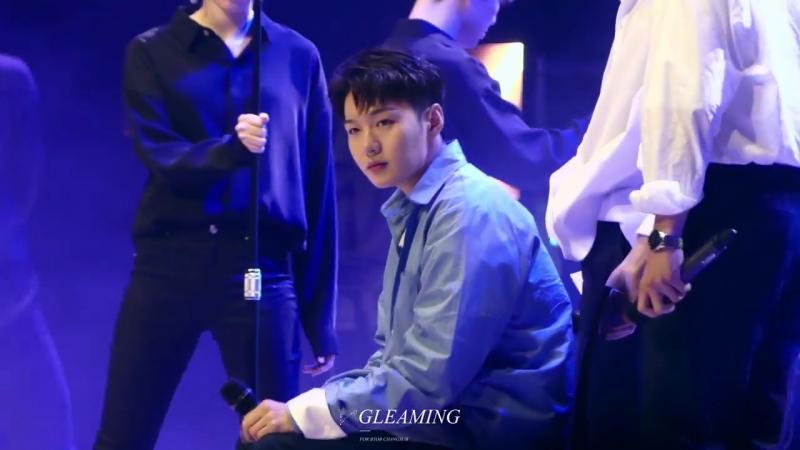 [FANCAM] 17.05.2018: BTOB - Missing You (Фокус на Чансоба) @ Kyunghee University Festival