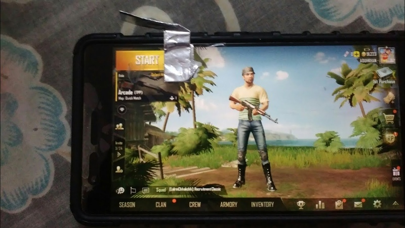 PUBG MOBILE HACK joystick chewing gum wrapper for pubg and free fire and fps games
